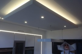 Cusine contemporaine - Plafond suspendu